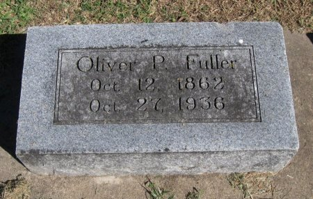 FULLER  , OLIVER PERRY, JR - Cowley County, Kansas | OLIVER PERRY, JR FULLER   - Kansas Gravestone Photos