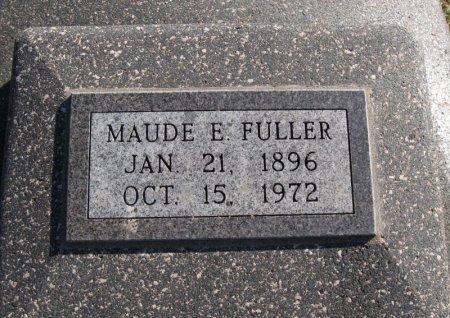 FULLER, MAUDE E - Cowley County, Kansas | MAUDE E FULLER - Kansas Gravestone Photos