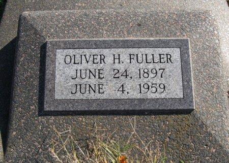 FULLER, OLIVER HIRAM - Cowley County, Kansas | OLIVER HIRAM FULLER - Kansas Gravestone Photos