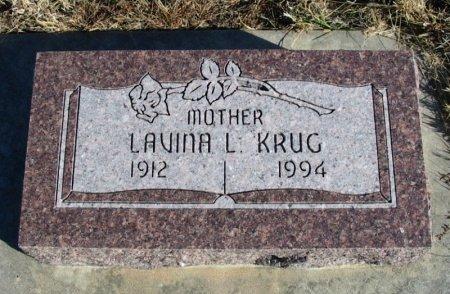 KRUG, LAVINA L - Cowley County, Kansas | LAVINA L KRUG - Kansas Gravestone Photos