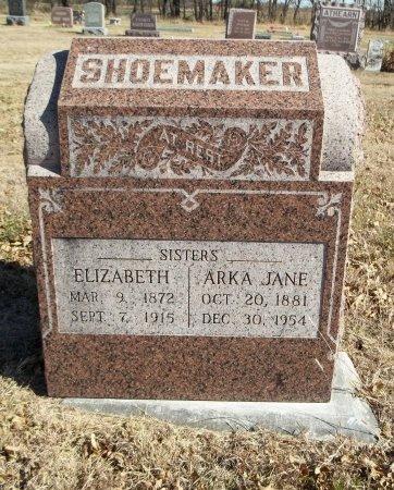 SHOEMAKER, ARKA JANE - Cowley County, Kansas | ARKA JANE SHOEMAKER - Kansas Gravestone Photos