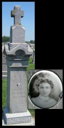 DZIADULA, MARY - Crawford County, Kansas | MARY DZIADULA - Kansas Gravestone Photos