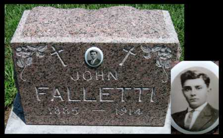 FALLETTI, JOHN - Crawford County, Kansas | JOHN FALLETTI - Kansas Gravestone Photos
