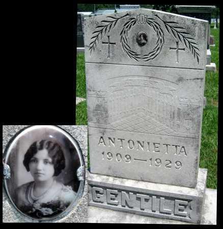 GENTILE, ANTONIETTA - Crawford County, Kansas   ANTONIETTA GENTILE - Kansas Gravestone Photos