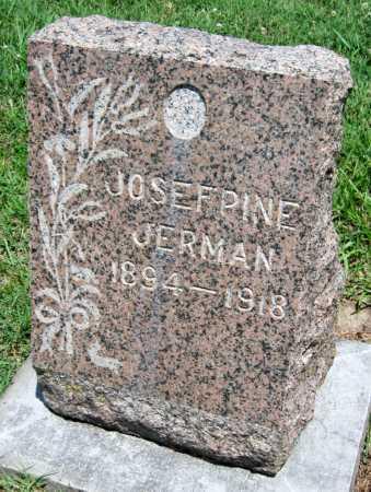 JERMAN, JOSEPHINE - Crawford County, Kansas | JOSEPHINE JERMAN - Kansas Gravestone Photos