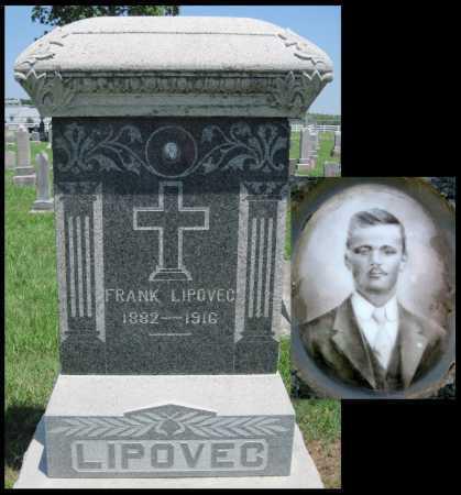 LIPOVEC, FRANK - Crawford County, Kansas | FRANK LIPOVEC - Kansas Gravestone Photos