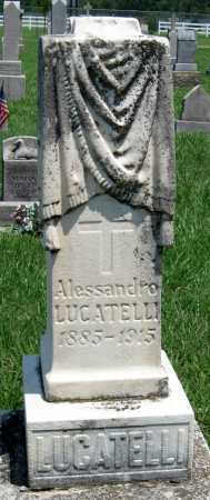 LUCATELLI, ALESSANDRO - Crawford County, Kansas | ALESSANDRO LUCATELLI - Kansas Gravestone Photos