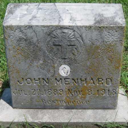 MENHARD, JOHN - Crawford County, Kansas   JOHN MENHARD - Kansas Gravestone Photos
