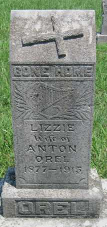 OREL, LIZZIE - Crawford County, Kansas | LIZZIE OREL - Kansas Gravestone Photos