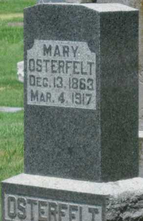 OSTERFELT, MARY - Crawford County, Kansas | MARY OSTERFELT - Kansas Gravestone Photos