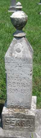 SERRA, ANGELINA - Crawford County, Kansas | ANGELINA SERRA - Kansas Gravestone Photos