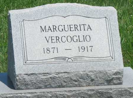 VERCOGLIO, MARGUERITA - Crawford County, Kansas | MARGUERITA VERCOGLIO - Kansas Gravestone Photos