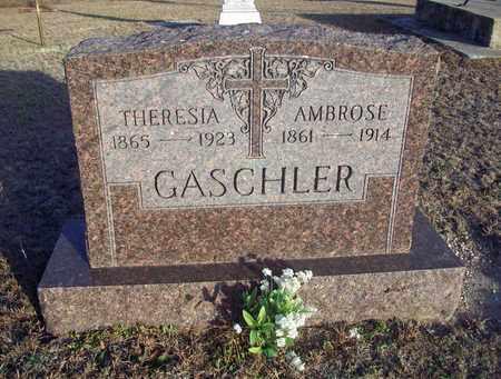 GASCHLER, AMBROSE - Ellis County, Kansas   AMBROSE GASCHLER - Kansas Gravestone Photos