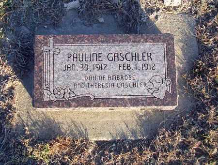 GASCHLER, PAULINE - Ellis County, Kansas | PAULINE GASCHLER - Kansas Gravestone Photos