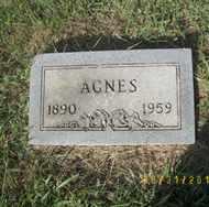 HUGGINS, AGNES - Ellsworth County, Kansas | AGNES HUGGINS - Kansas Gravestone Photos