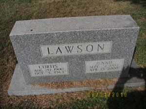 LAWSON, JENNIE - Ellsworth County, Kansas | JENNIE LAWSON - Kansas Gravestone Photos