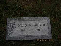 MCIVER, DAVID W. - Ellsworth County, Kansas | DAVID W. MCIVER - Kansas Gravestone Photos