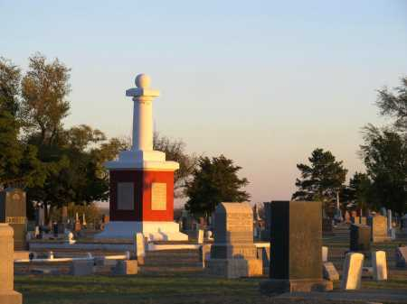 *OVERVIEW, GAR SECTION,  - Ford County, Kansas |  *OVERVIEW, GAR SECTION - Kansas Gravestone Photos