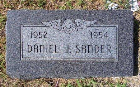 SANDER, DANIEL J - Ford County, Kansas   DANIEL J SANDER - Kansas Gravestone Photos