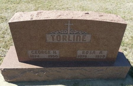 TORLINE, GEORGE H - Ford County, Kansas | GEORGE H TORLINE - Kansas Gravestone Photos