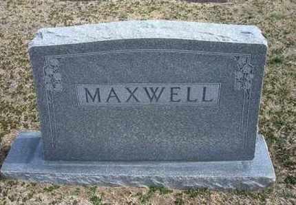 MAXWELL FAMILY GRAVESTONE,  - Grant County, Kansas |  MAXWELL FAMILY GRAVESTONE - Kansas Gravestone Photos