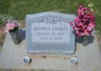 ESPARZA, ANTONIA - Grant County, Kansas | ANTONIA ESPARZA - Kansas Gravestone Photos