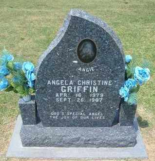 """GRIFFIN, ANGELA CHRISTINE  """"ANGIE"""" - Grant County, Kansas   ANGELA CHRISTINE  """"ANGIE"""" GRIFFIN - Kansas Gravestone Photos"""