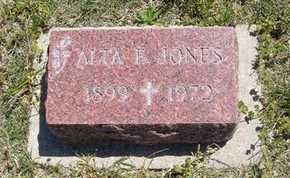 STEWARD JONES, ALTA ETHEL - Grant County, Kansas | ALTA ETHEL STEWARD JONES - Kansas Gravestone Photos