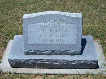 JONES, JOHN ROGER - Grant County, Kansas | JOHN ROGER JONES - Kansas Gravestone Photos