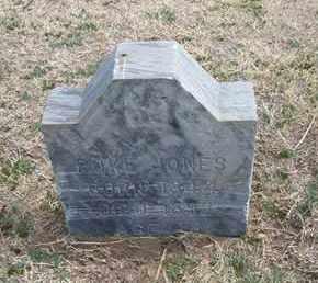 JONES, POKE - Grant County, Kansas   POKE JONES - Kansas Gravestone Photos