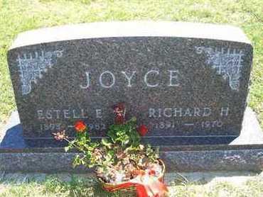 TOWLER JOYCE, ESTELLE E - Grant County, Kansas   ESTELLE E TOWLER JOYCE - Kansas Gravestone Photos