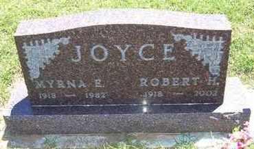 JOYCE, MYRNA E - Grant County, Kansas | MYRNA E JOYCE - Kansas Gravestone Photos