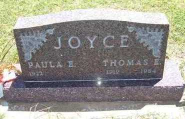 JOYCE, THOMAS E - Grant County, Kansas   THOMAS E JOYCE - Kansas Gravestone Photos