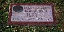 JURY, JAMI AUDREA - Grant County, Kansas | JAMI AUDREA JURY - Kansas Gravestone Photos