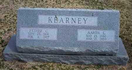 KEARNEY, AARON LEROY - Grant County, Kansas   AARON LEROY KEARNEY - Kansas Gravestone Photos