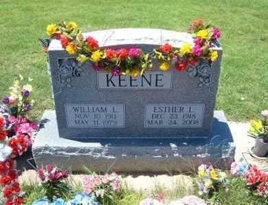 KEENE, ESTHER - Grant County, Kansas | ESTHER KEENE - Kansas Gravestone Photos