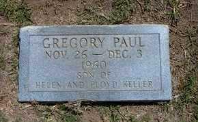 KELLER, GREGORY PAUL - Grant County, Kansas   GREGORY PAUL KELLER - Kansas Gravestone Photos