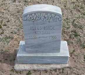 KENDALL, RUFUS LOYDE - Grant County, Kansas | RUFUS LOYDE KENDALL - Kansas Gravestone Photos