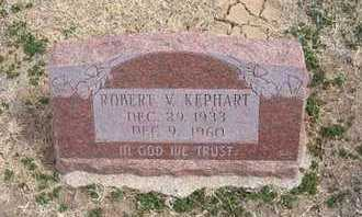 KEPHART, ROBERT VERNON - Grant County, Kansas | ROBERT VERNON KEPHART - Kansas Gravestone Photos