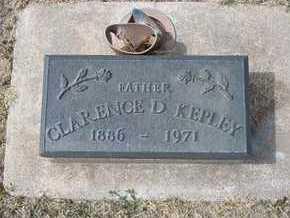 KEPLEY, CLARENCE D - Grant County, Kansas | CLARENCE D KEPLEY - Kansas Gravestone Photos