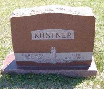 "KIISTNER, WILHELMINA ""MINNIE"" - Grant County, Kansas | WILHELMINA ""MINNIE"" KIISTNER - Kansas Gravestone Photos"