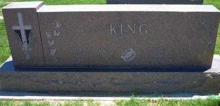 KING, CLAUDE LEON - Grant County, Kansas   CLAUDE LEON KING - Kansas Gravestone Photos