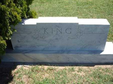 SPEAKS KING, EVAH. L - Grant County, Kansas | EVAH. L SPEAKS KING - Kansas Gravestone Photos