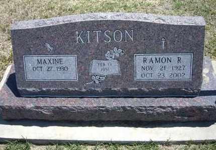 KITSON, RAMON R - Grant County, Kansas | RAMON R KITSON - Kansas Gravestone Photos