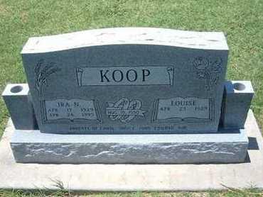 KOOP, IRA N - Grant County, Kansas | IRA N KOOP - Kansas Gravestone Photos