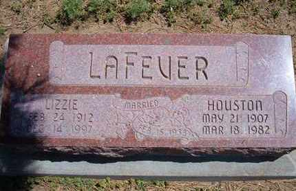 LAFEVER, HOUSTON - Grant County, Kansas | HOUSTON LAFEVER - Kansas Gravestone Photos