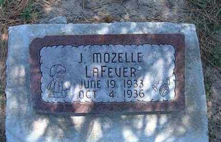 LAFEVER, JANICE MOZELLE - Grant County, Kansas | JANICE MOZELLE LAFEVER - Kansas Gravestone Photos