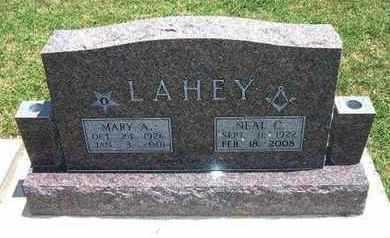 LAHEY, MARY A - Grant County, Kansas   MARY A LAHEY - Kansas Gravestone Photos