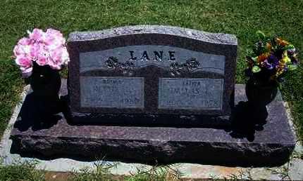 LANE, DALLAS L - Grant County, Kansas | DALLAS L LANE - Kansas Gravestone Photos