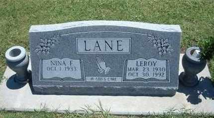 LANE, LEROY - Grant County, Kansas | LEROY LANE - Kansas Gravestone Photos